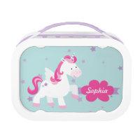 Personalised Unicorn Lunchbox