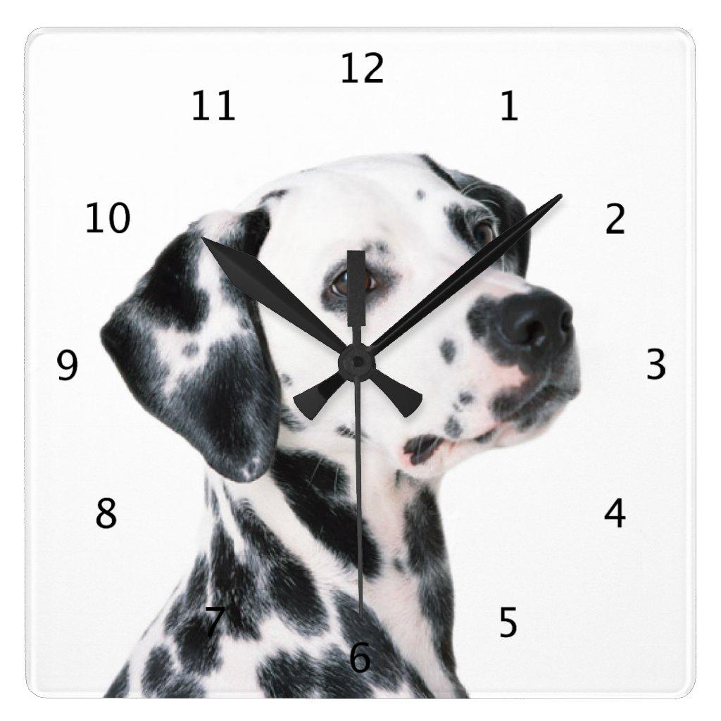 Dalmatian Wall Clock