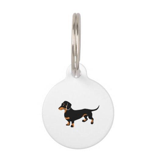 Doxie Dog Love - Cute Little Dachshund Name Tag