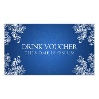 283 Wedding Drink Voucher Business Cards And Wedding