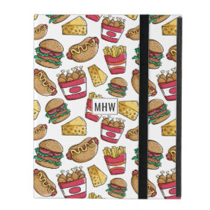 Fast Food custom monogram device cases