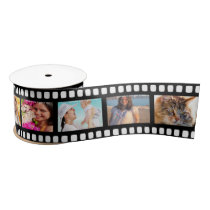 Film Strip Personalized DIY 10 Images Blank Ribbon