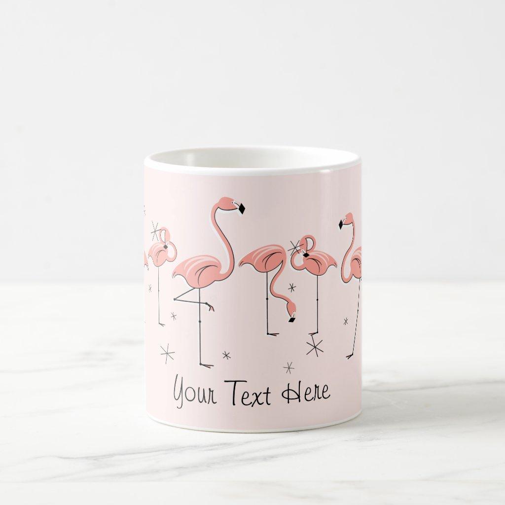Flamingos Pink Mug