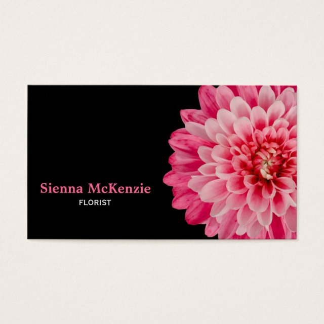 Florist business cards personalised business cards florist business card reheart Choice Image