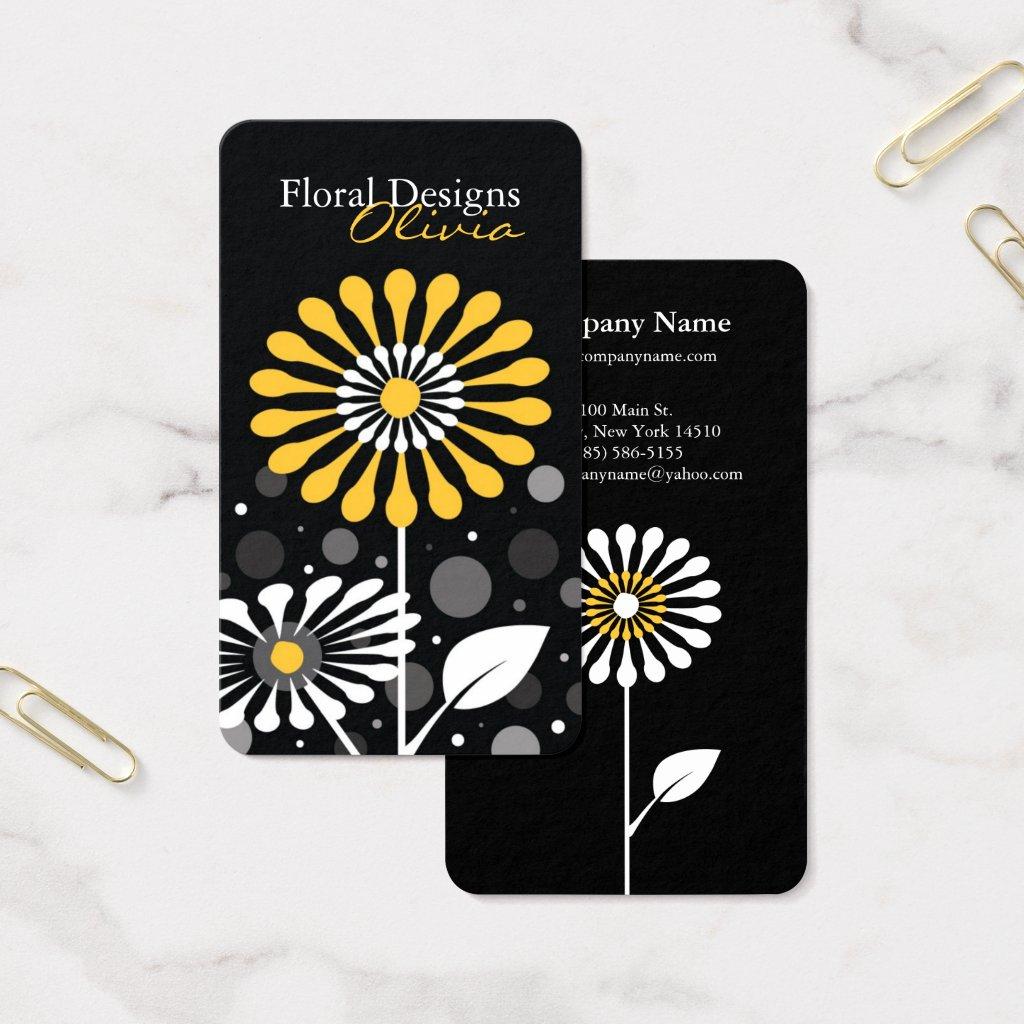 Florist Shop Business Card