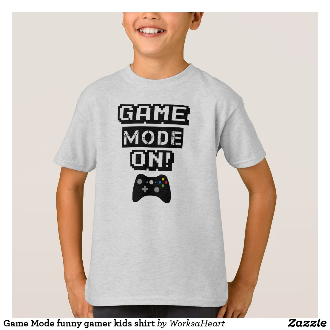 Game Mode On T-Shirt