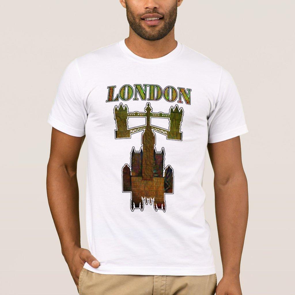 Gothic Fantasy Of London T-Shirt