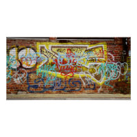 Graffiti Wall Poster