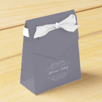 Grand Soiree | Lilac Gray Favour Box
