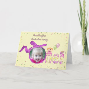 Granddaughters First Birthday Gifts Gift Ideas Zazzle Uk