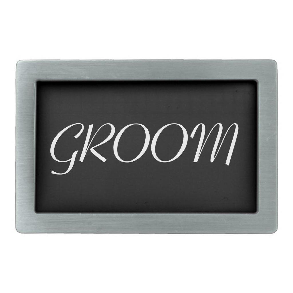 Groom Belt Buckle