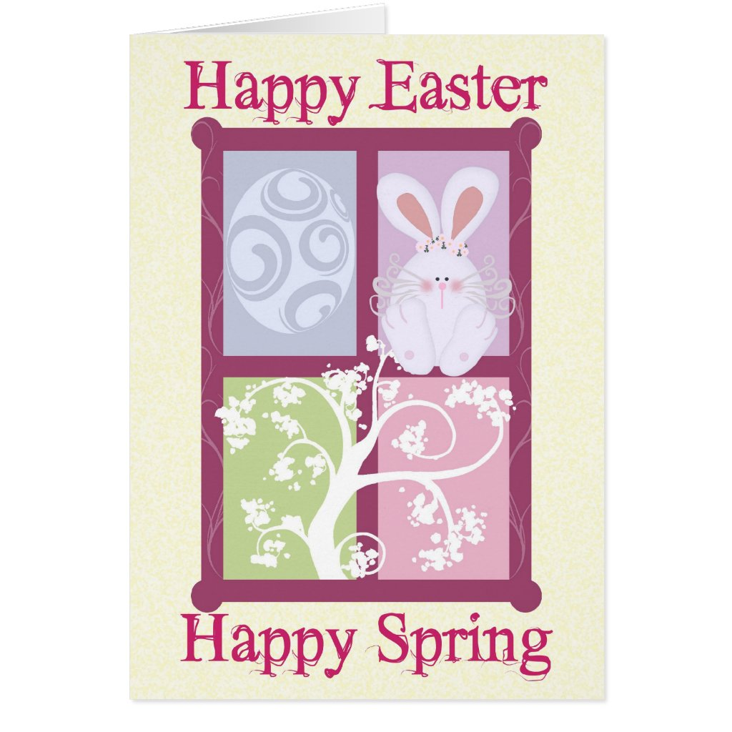 Happy Easter Happy Spring Card