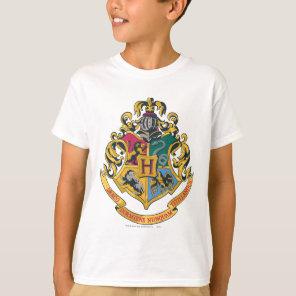 Harry Potter | Hogwarts Crest - Full Colour T-Shirt