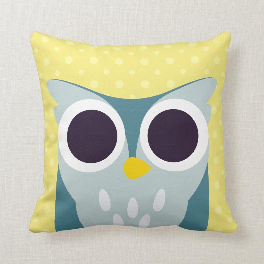 Henry the Owl Cushion