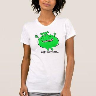 Hippo Happiness - T-shirt
