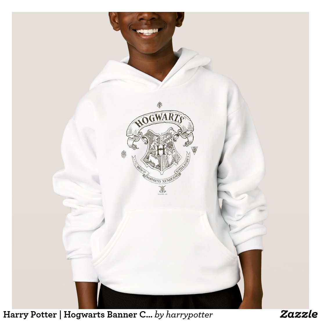 HOGWARTS™ Banner Crest Hoodie