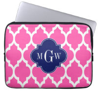 Monogram Laptop Computer Sleeve