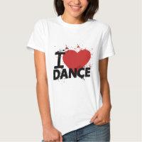 I Heart Dance T Shirt