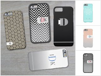 iD CASES just add your initials