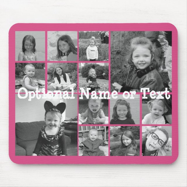 Instagram Photo Collage Mouse Mat