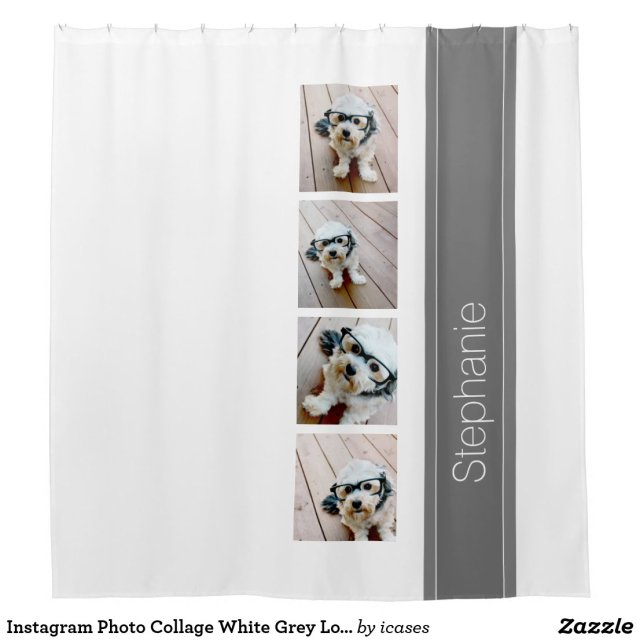 Photo Collage Shower Curtain