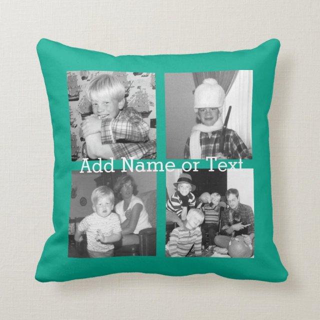 Instagram Photo Collage Cushion
