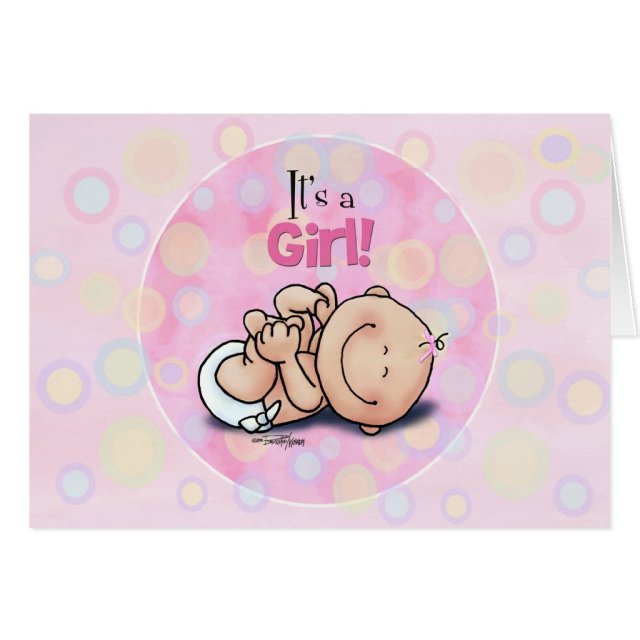 It's a Girl - Baby Congratulations!