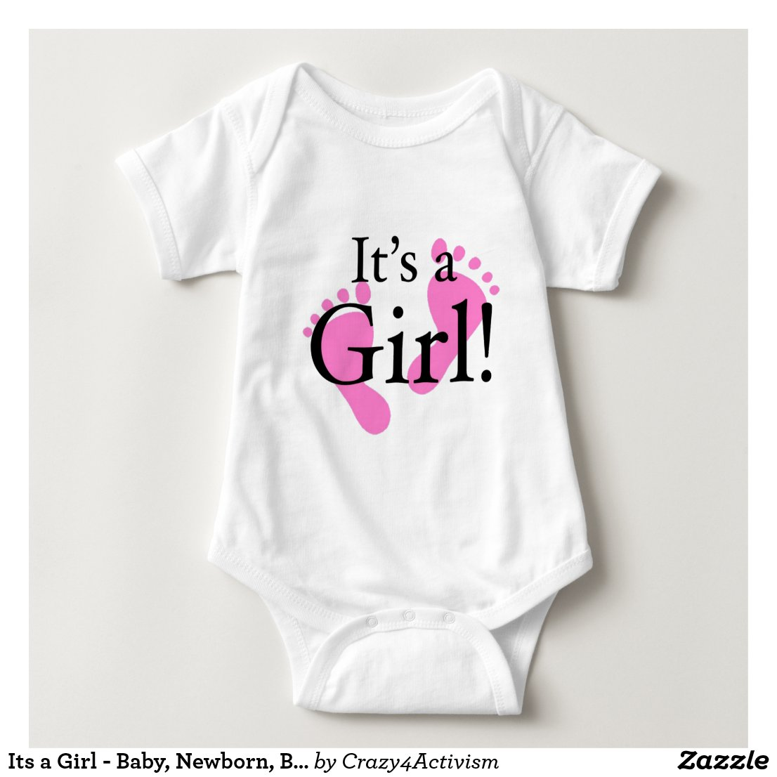 Its a Girl Bodysuit