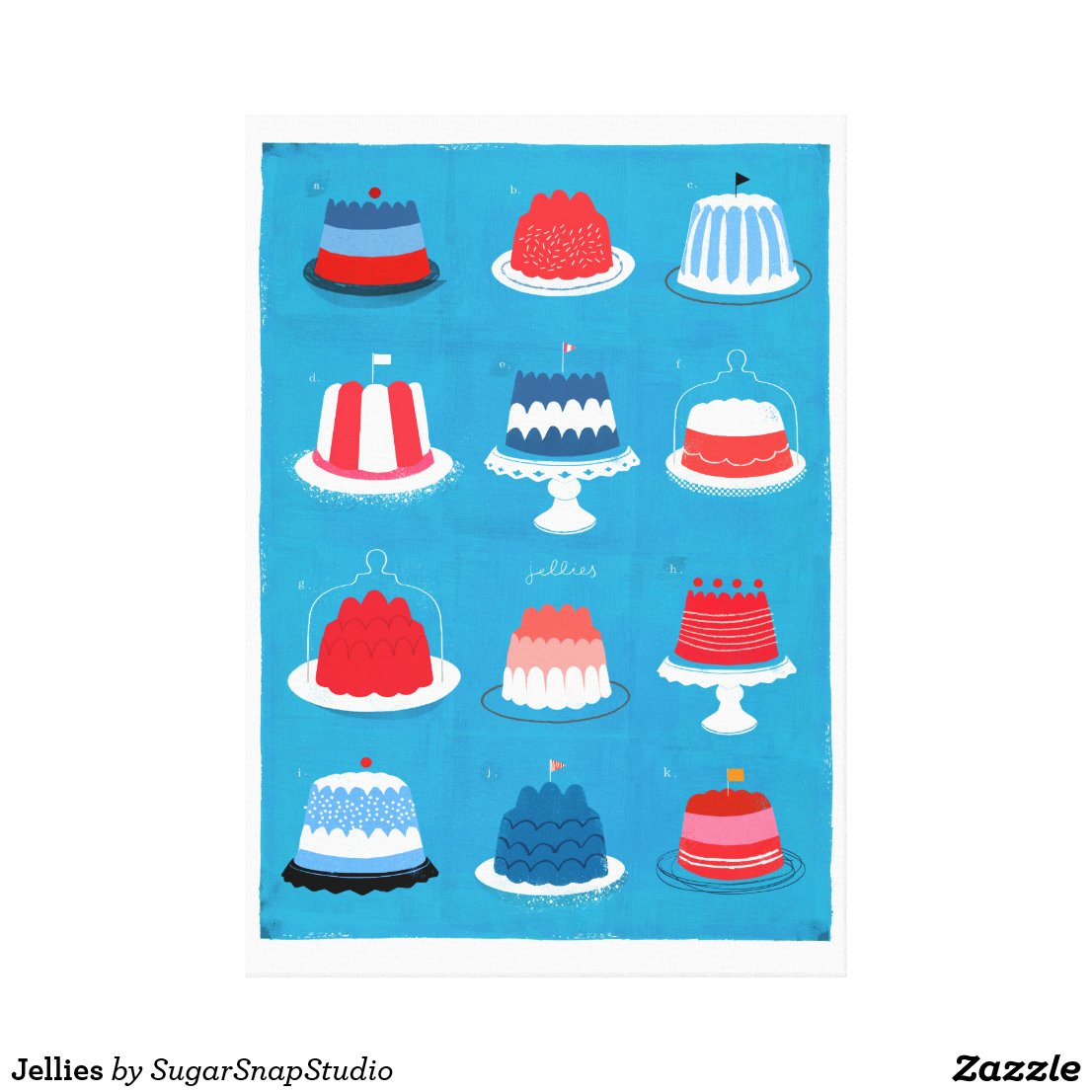 Jellies Canvas Print