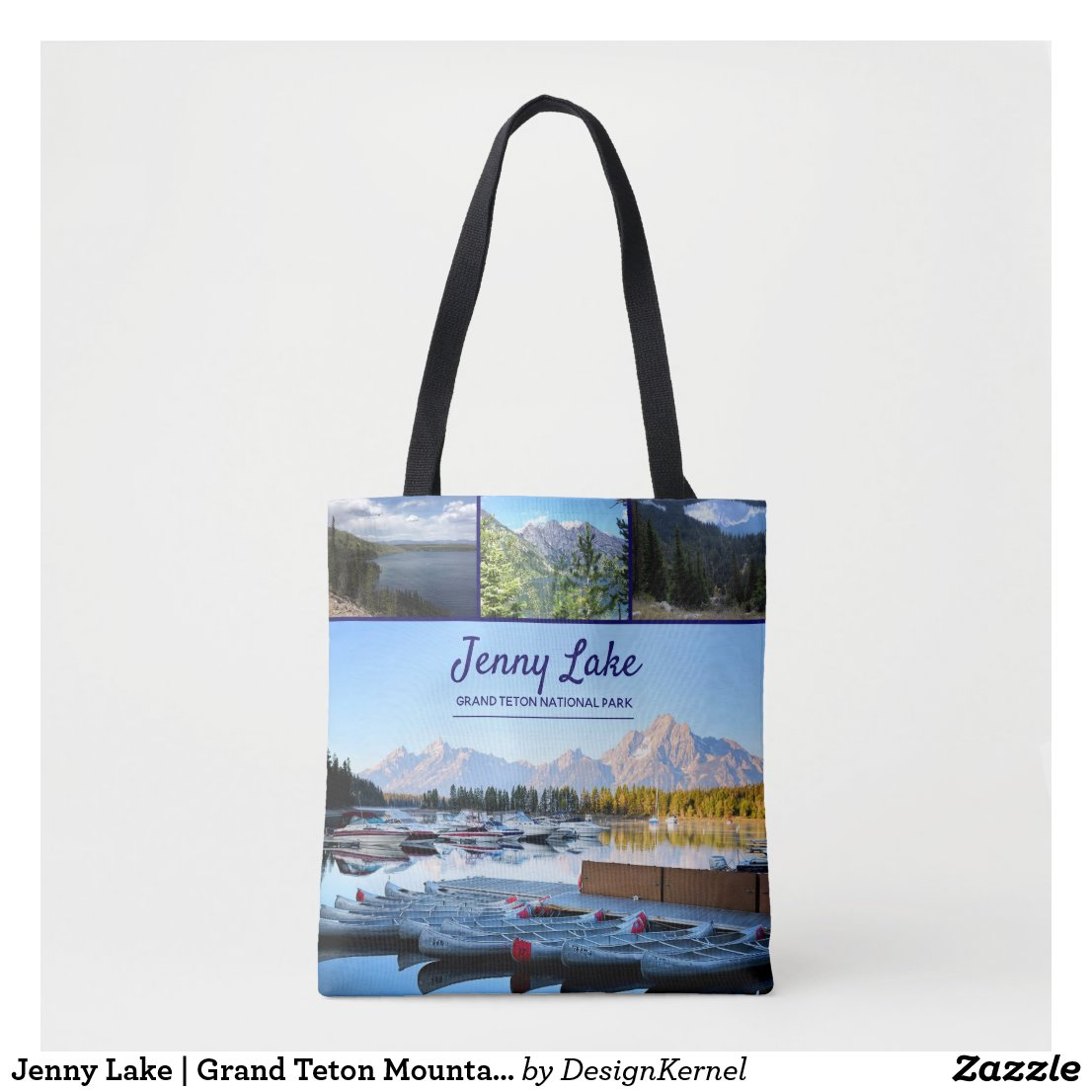 Jenny Lake | Grand Teton Mountains Tote Bag
