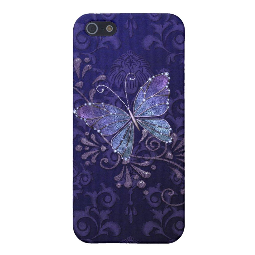 Jewel Butterfly iPhone Case