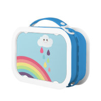 Kawaii Rainbow Lunch Box