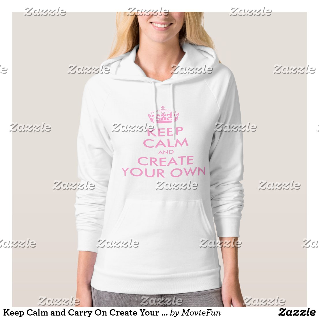 Keep Calm and Carry On Create Your Own | Pink