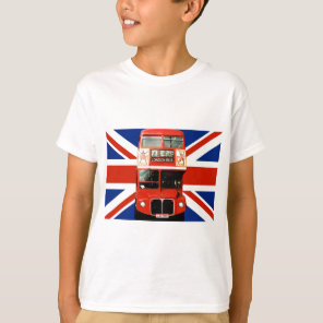 Kid's Souvenir T-Shirt from London England