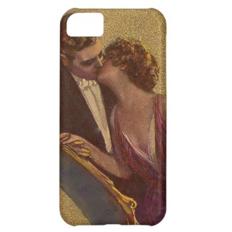 Kissing on the Chaise-Longue Valentine iPhone 5C Cover
