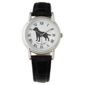 Labrador Retriever Personalise Watch