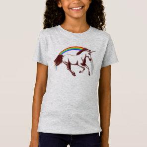 Laura's Logan Unicorn Shirt