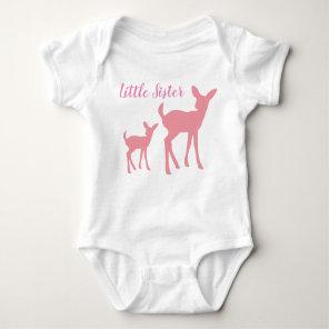Little Sister Vest Baby Bodysuit
