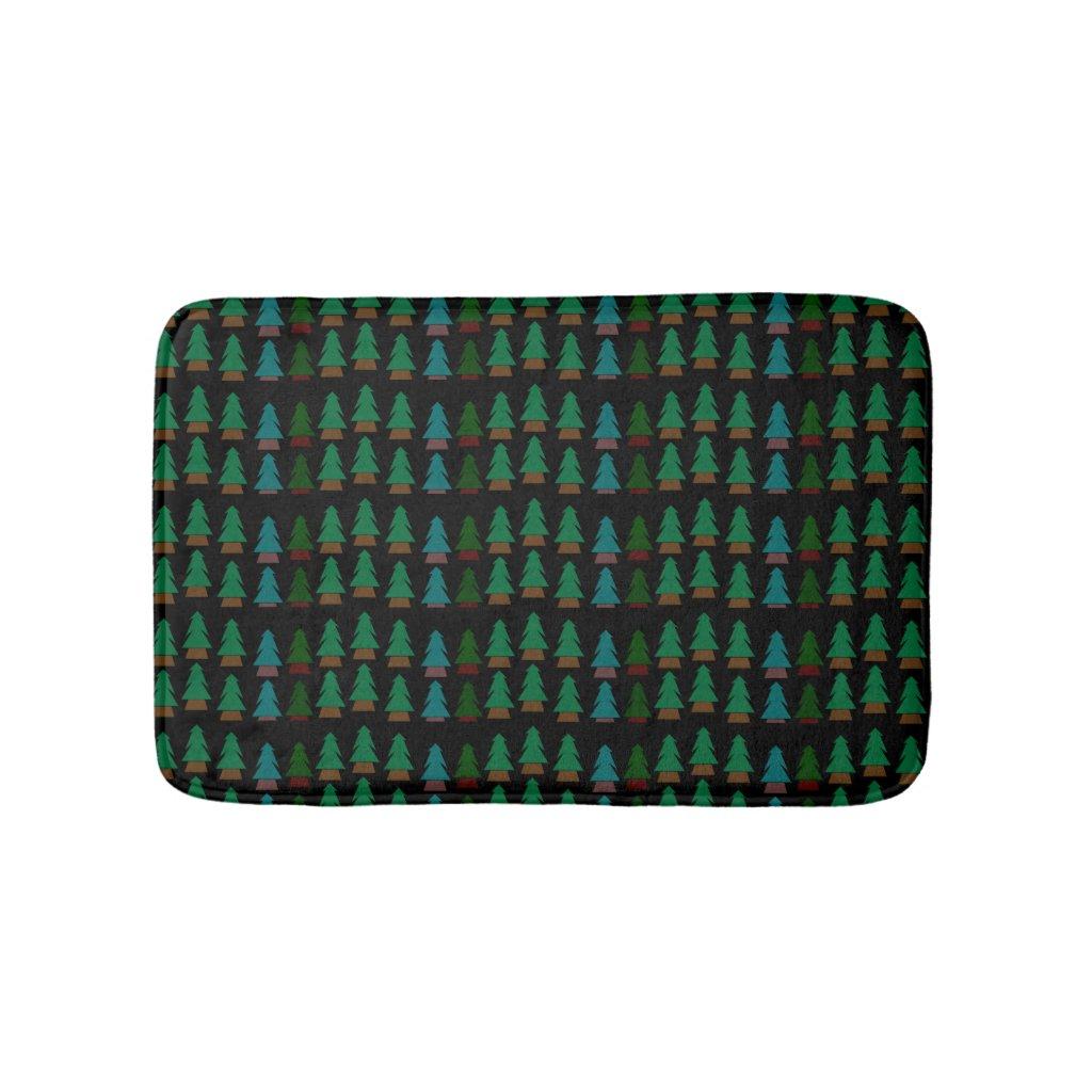 Little Woodland Forest Bath Mat Shower Mat