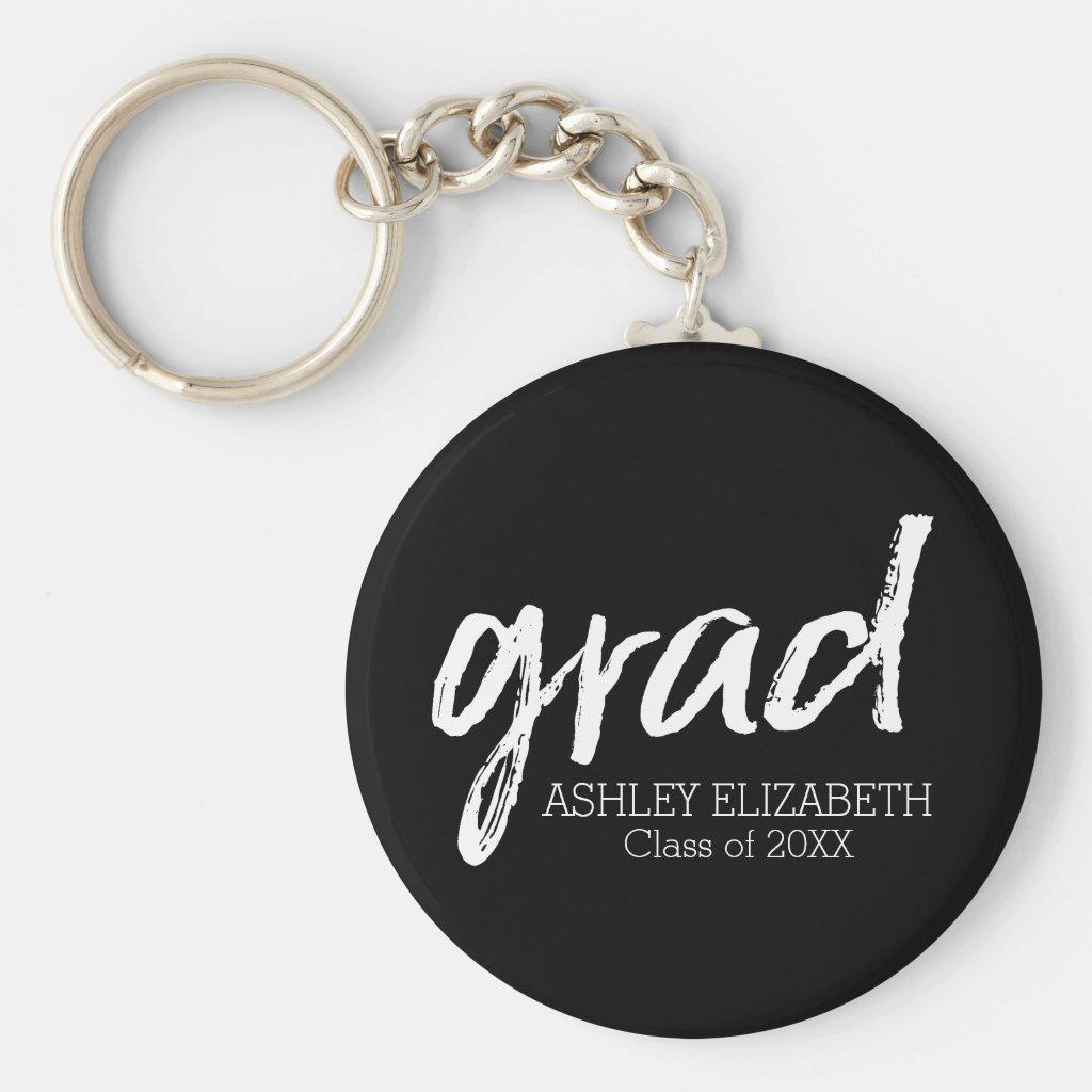 Modern Graduate Custom Trendy Black Grad