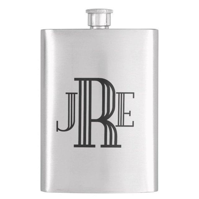 Monogram Gift Flask