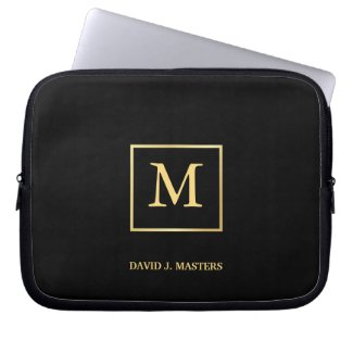 Monogram - Men's Executive Corporate Laptop Skin