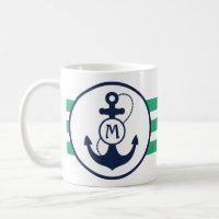 Nautical Anchor Coffee Mug