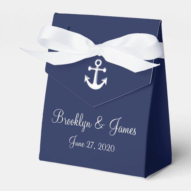 Nautical Wedding Favour Boxes