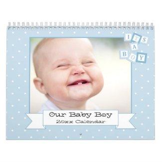 Our Baby Boy Custom Photo