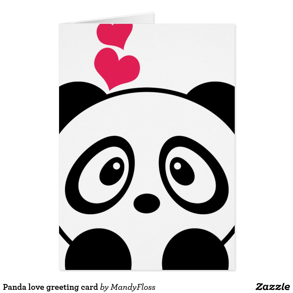 Panda Cards | Panda Birthday Cards, Invitations & Postcards