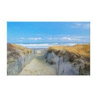 Path to the Beach Canvas Print