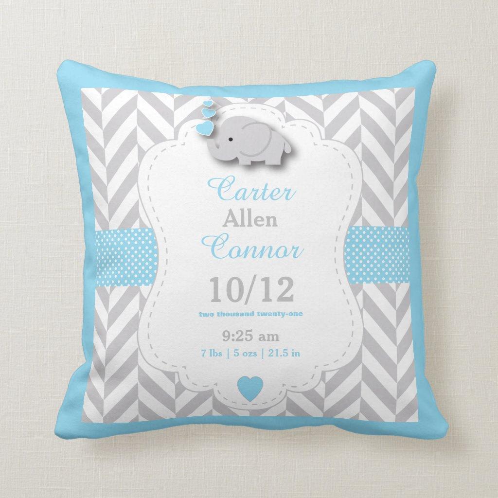 Personalised Elephant Cushion