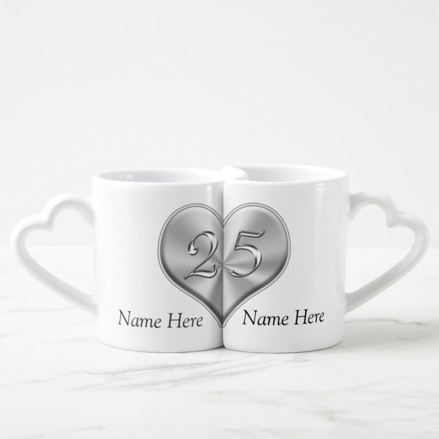 Personalised 25th Wedding Anniversary Gifts