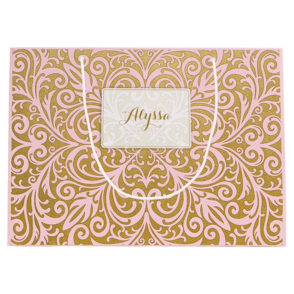 Personalised Chic and Glam Gift Bag